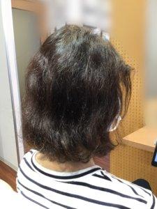 切れ毛が減って、さらにボリュームアップしました
