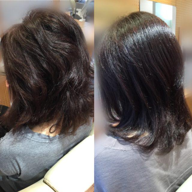 髪体力向上カラーエステで!!