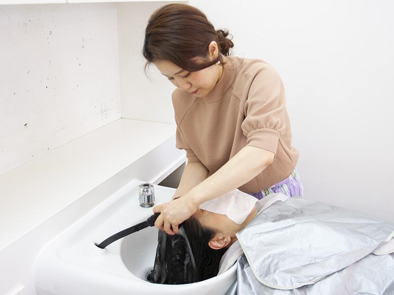 ヘアエステ専門店オノフ 髪質改善プログラムの流れ3