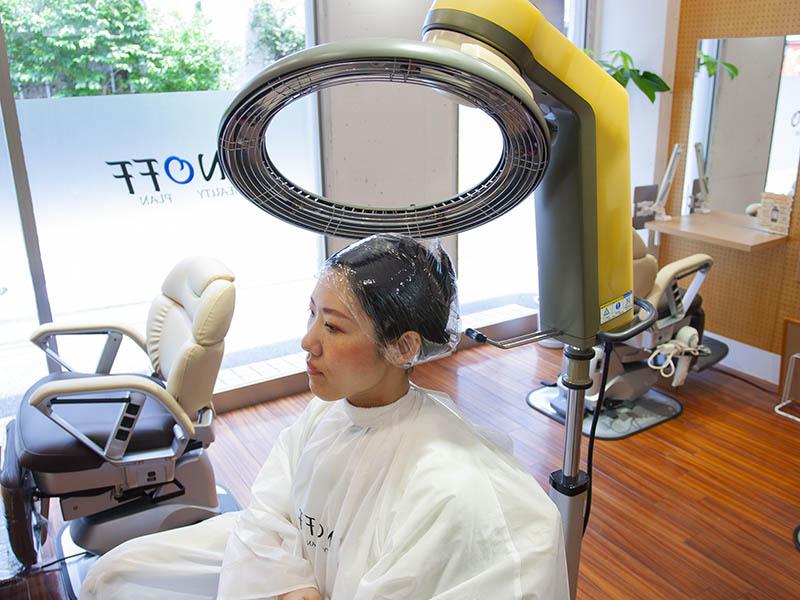 ヘアエステ専門店オノフ 髪質改善プログラムの流れ6