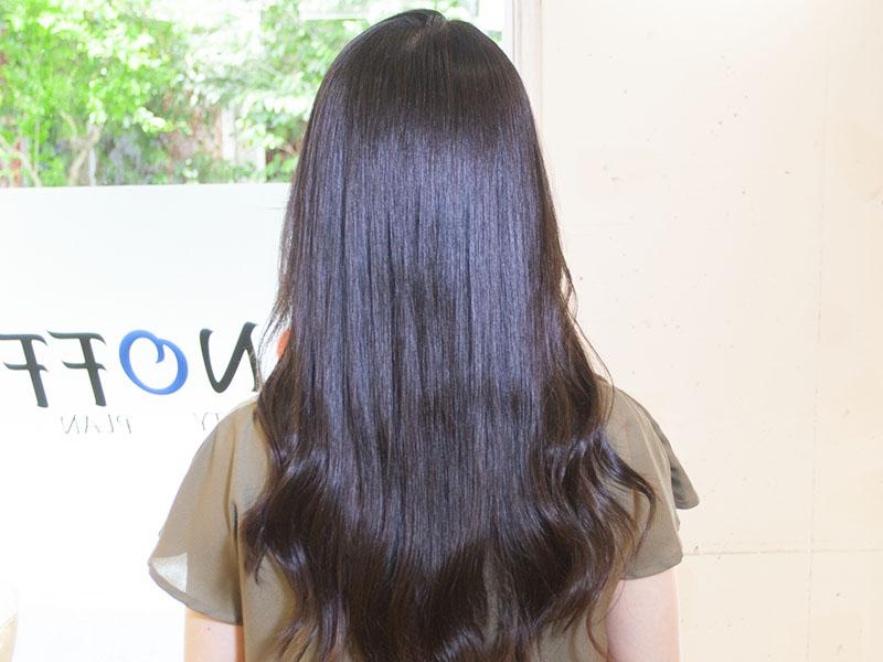 ヘアエステ専門店オノフ 髪質改善プログラムの流れ11