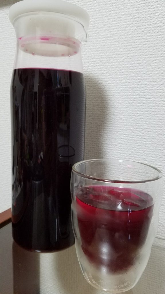 ☆赤しそジュースの作り方