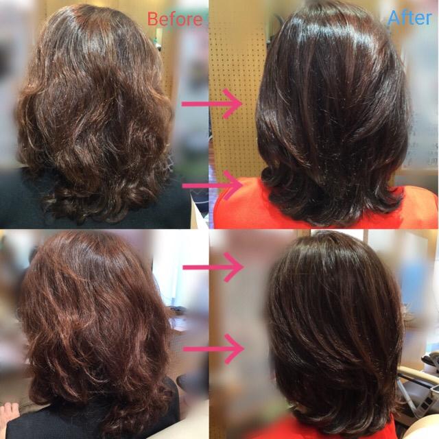S様の髪質改善プログラム(更新)