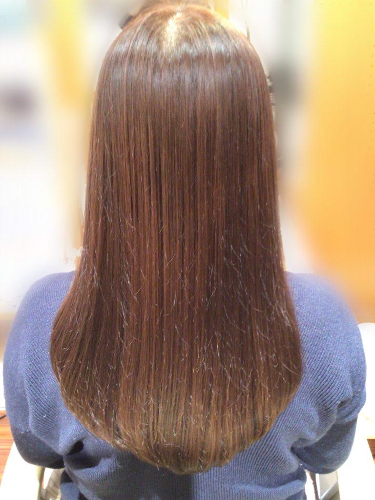 最短で髪を伸ばす ヘアエステ