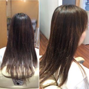 表面の髪の毛が伸びてきて、まとまりが良くなってきました!