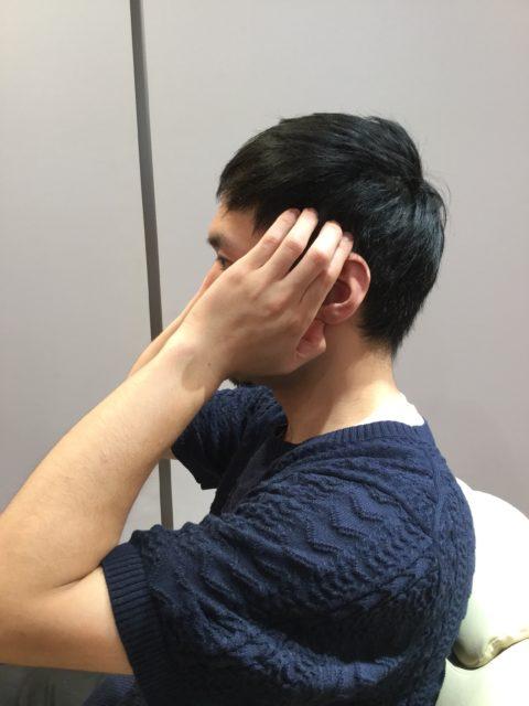 頭皮のマッサージ