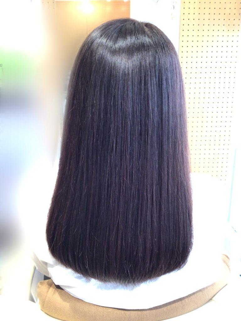 毛先の絡まりに 髪体力向上プログラム