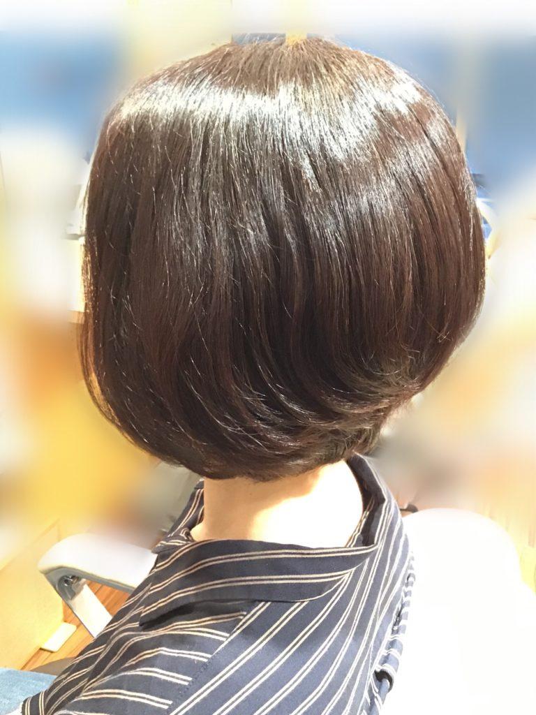 質感が変わったら、やりたい髪型に挑戦♪