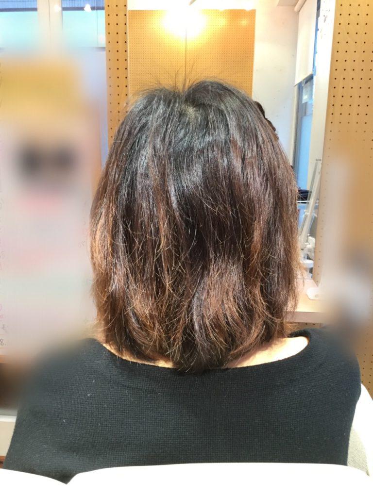 M様のオーダーメイド髪質感改善プログラム!