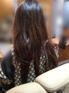 髪質感改善をして色々なスタイルを楽しんでいるO様です!!