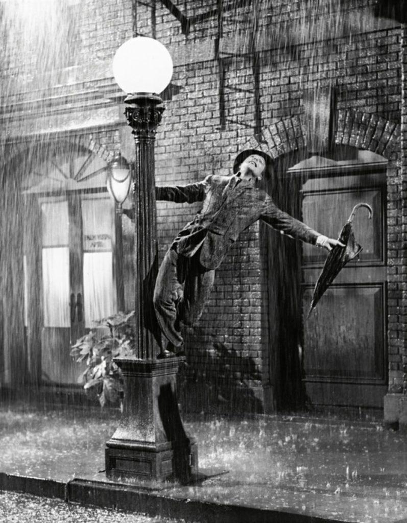雨の日の過ごし方。