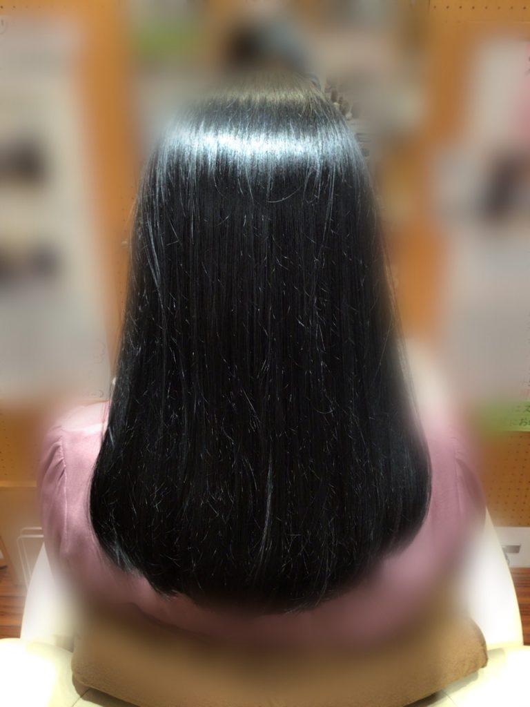 F様の髪体力向上プログラム。