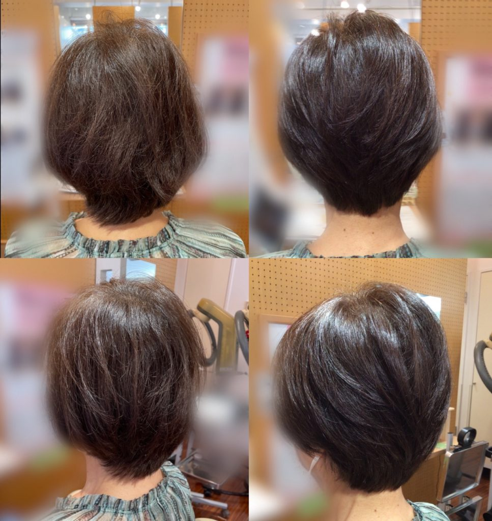 K様の髪体力向上プログラム歴(更新)!!