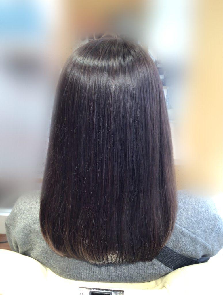 髪体力UPで、髪色ずっと長持ち♪